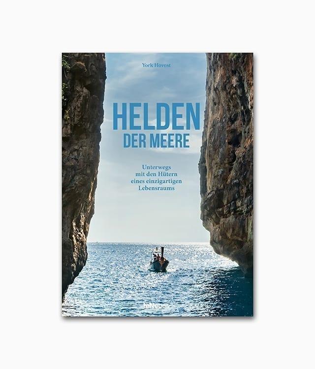 Buchcover von Helden der Meere einem Buch über Natur und Umweltschutz aus dem teNeues Verlag