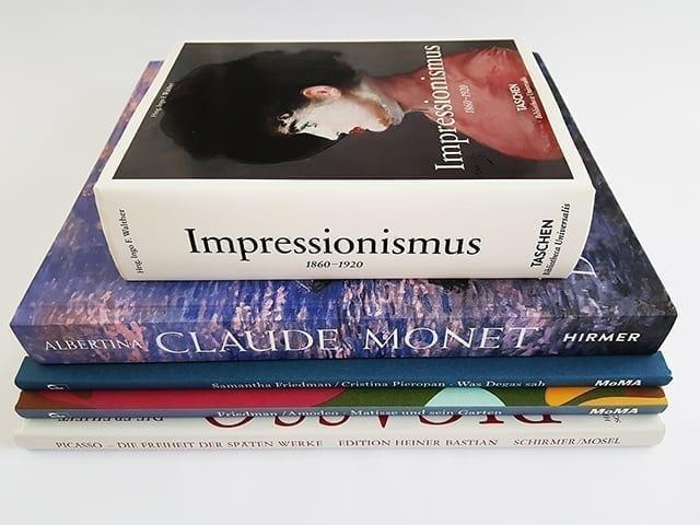 Bildbände und Bücher über Impressionismus