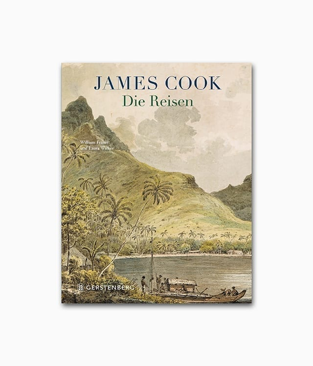 Cover des Kinderbuches über den Entdecker James Cook aus dem Gerstenberg Verlag