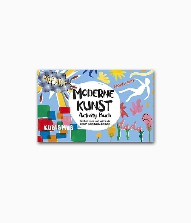 des Kunstbuches für Kinder namens Moderne Kunst Activity-Buch aus dem E.A. Seemann Verlag
