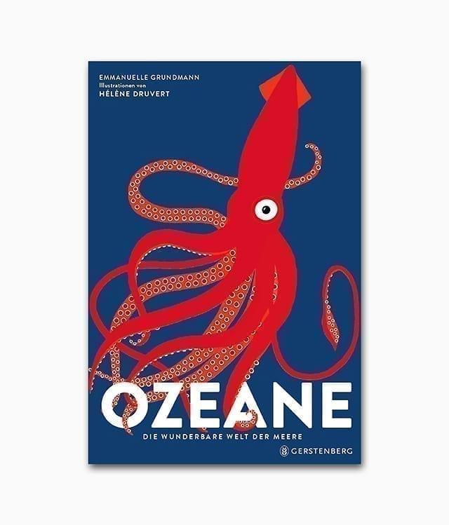 Cover des Kinderbuches mit dem Titel Ozeane Die wunderbare Welt der Meere Gerstenberg Verlag