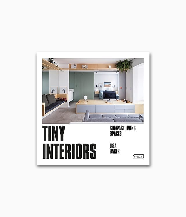 Cover des Interior Design über Tiny Houses von Braun Publishing