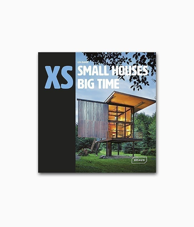 Buchcover des Buches namens XS Small Houses Big Time von Braun Publishing