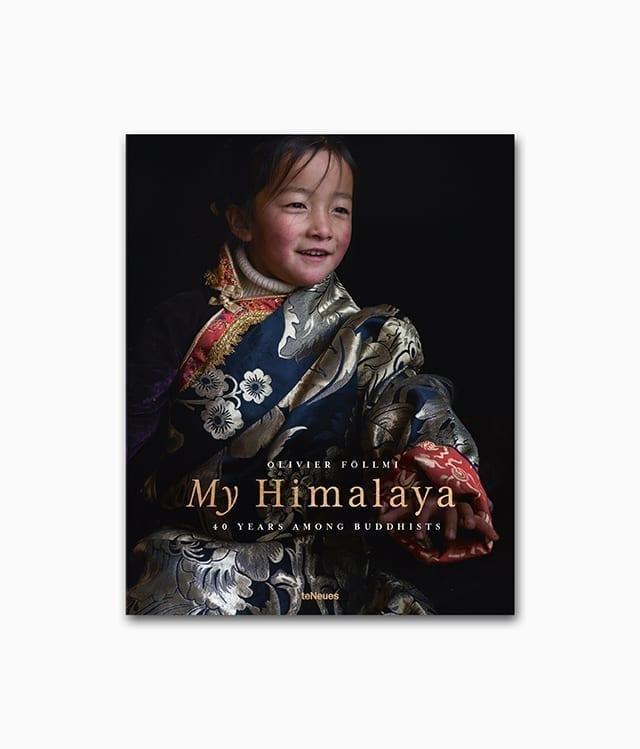 Cover des Abenteuer Buches über die Kultur und Natur der Menschen im Himalaya mit dem Titel My Himalaya erschienen im teNeues Verlag
