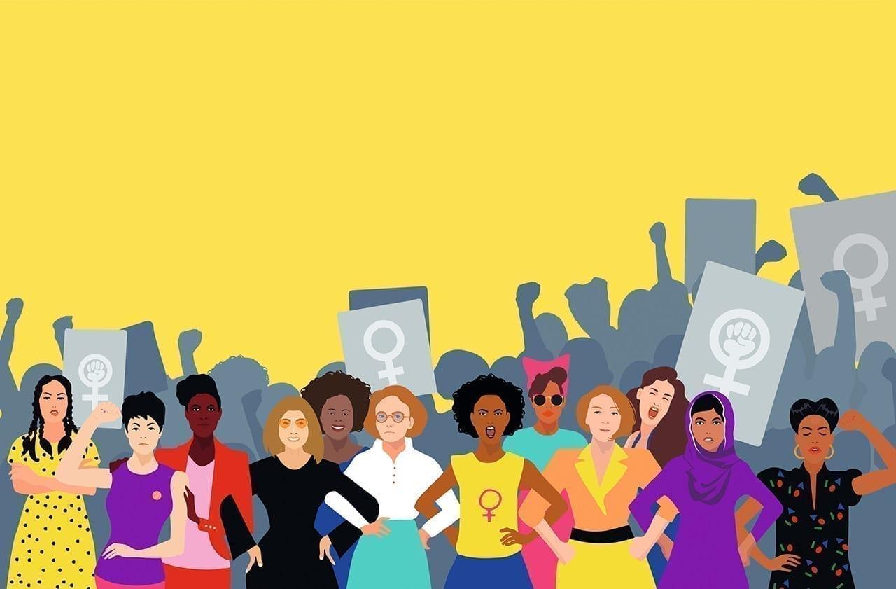 Cover eines Buches zum Feminismus namens Wenn nicht ich wer dann? Große Frauen, große Reden erschienen im Sieveking Verlag