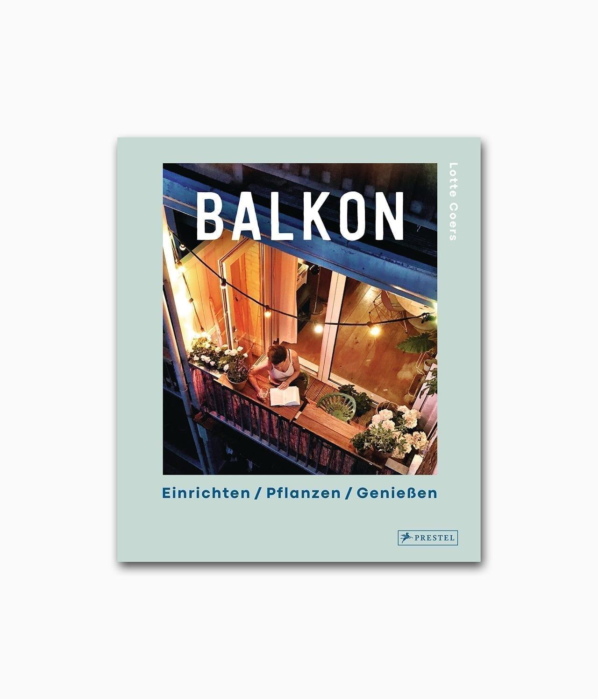 Cover vom Interior Design Buch über den Balkon vom Prestel Verlag