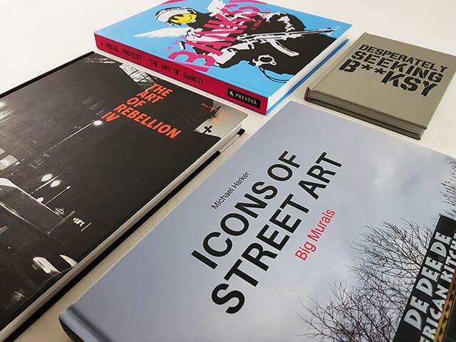 Banksy Bücher und Bildbände