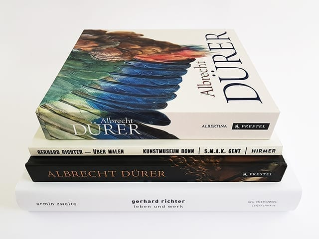 Bildbände und Bücher über deutsche Künstler