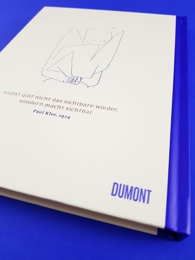 Die Engel von Paul Klee DuMont Verlag Buchrückseite