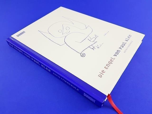 Die Engel von Paul Klee DuMont Verlag Buchcover liegend