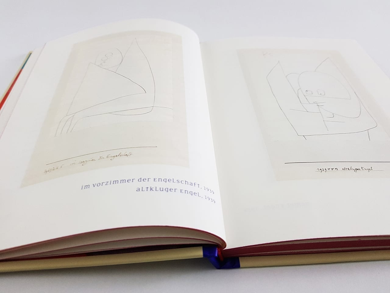 Die Engel von Paul Klee DuMont Verlag aufgeschlagene Doppelseite