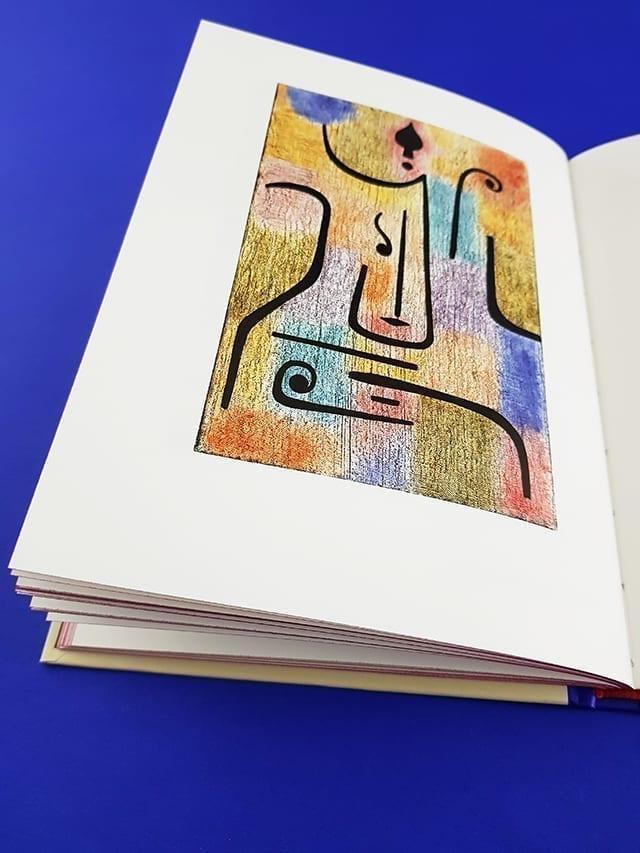 Die Engel von Paul Klee DuMont Verlag aufgeschlagene Seite
