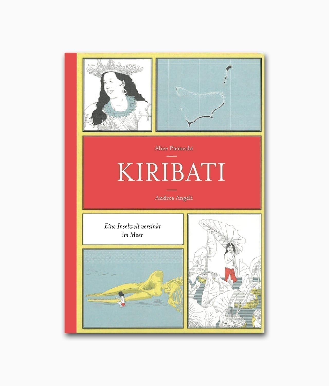Cover vom Buch zum Thema Umweltschutz namens Kiribati Eine Inselwelt versinkt im Meer des Sieveking Verlags