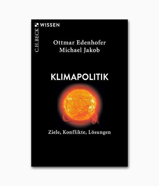 Cover einens Buches zum Thema Umweltschutz namens Klimapolitik vom C.H. Beck Verlag