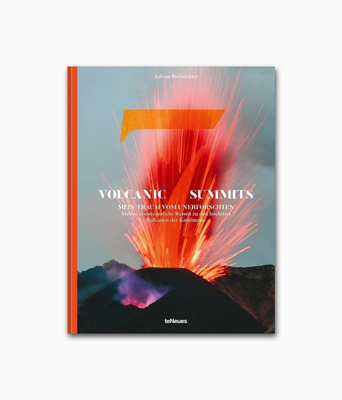 Buchcover aus dem Natur Bildband über Abenteuer und Berge in den Bergen des Buches Volcanic 7 Summits aus dem teNeues Verlag