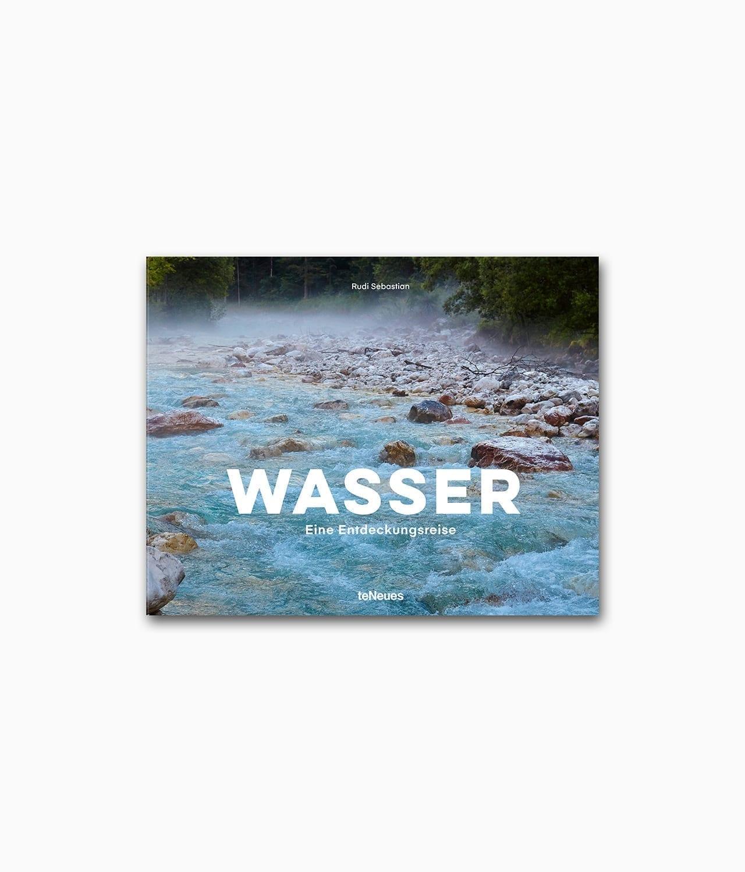 Buchcover des Natur Bildbandes mit dem Namen Wasser Eine Entdeckungsreise aus dem teNeues Verlag