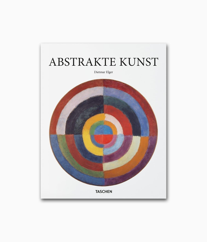 Cover eines Kunstbuches mit dem Buchtitel Abstrakte Kunst erschienen in der Buchreihe Kleine Reihe im TASCHEN Verlag
