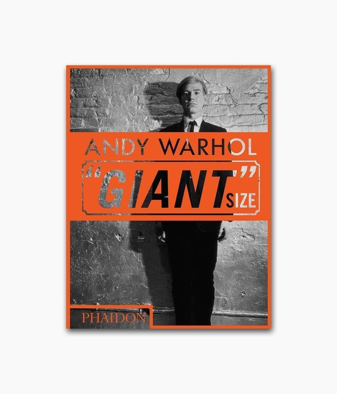 Cover des Buches mit dem Buchtitel Andy Warhol Giant Size Mini Format erschienen im Phaidon Verlag