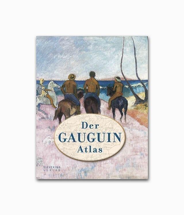 Cover vom Kunstbuch des berühmten Künstlers Gauguin vom Sieveking Verlag