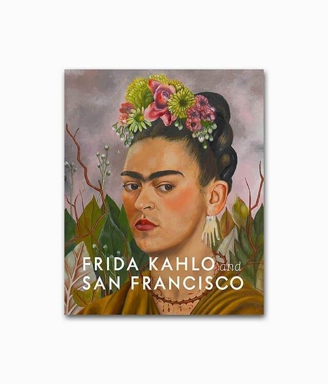 Cover des Buches über die berühmte Künstlerin Frida Kahlo aus dem Hirmer Verlag