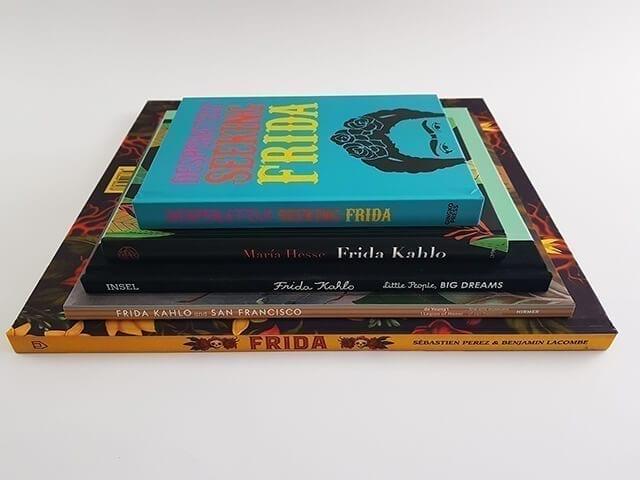 Frida Kahlo Buchstappel
