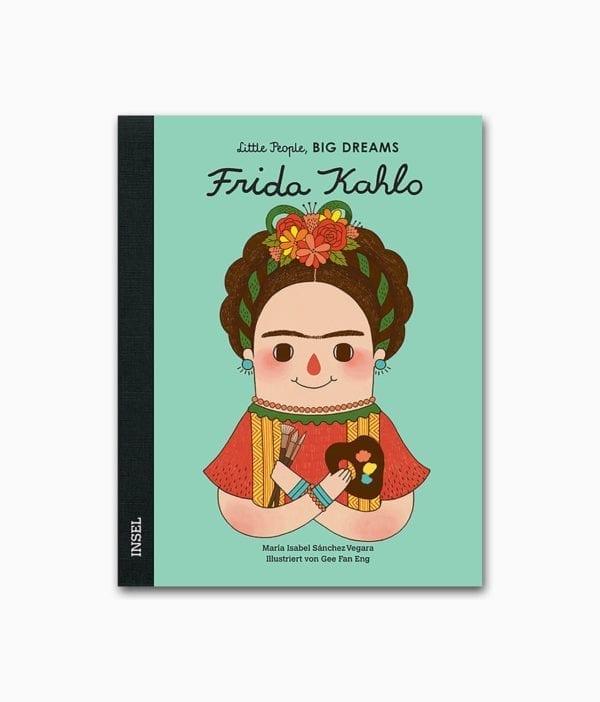 Cover des Kunstbuches für Kinder über Frida Kahlo von Little People Big Dreams Insel Verlag