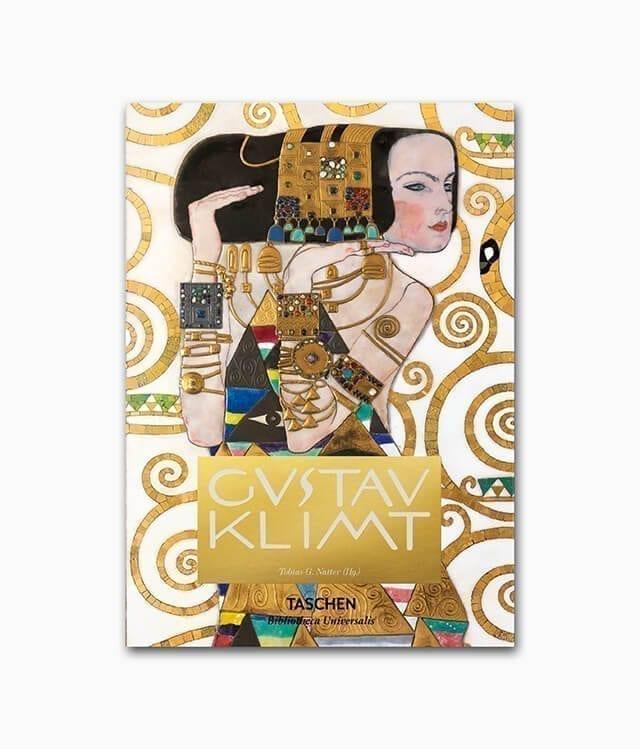 Gustav Klimt Zeichnungen und Gemälde TASCHEN Verlag Bibliotheca Universalis Buchcover