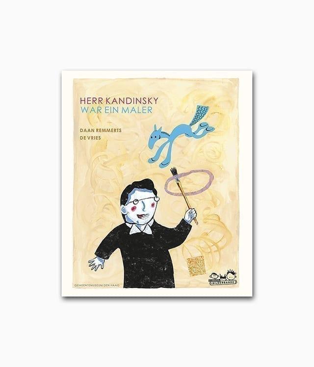 Cover des Kunstbuches für Kinder mit dem Buchtitel Herr Kandinsky war ein Maler erschienen im E.A. Seemann Verlag über abstrakte Kunst