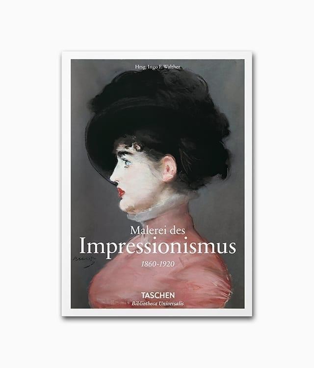 Cover des Buches Impressionismus erschienen in der Buchreihe Bibliotheca Universalis des TASCHEN Verlags