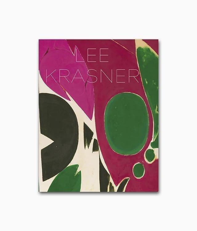 Cover von dem Kunstbuch mit dem Buchtitel Lee Krasner erschienen im Hirmer Verlag über abstrakte Kunst