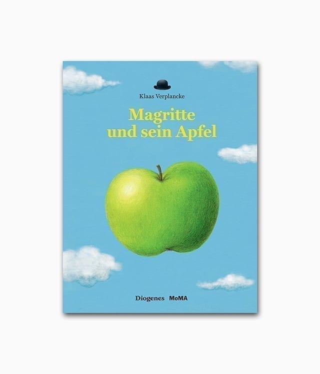 Magritte und sein Apfel Diogenes Verlag Buchcover