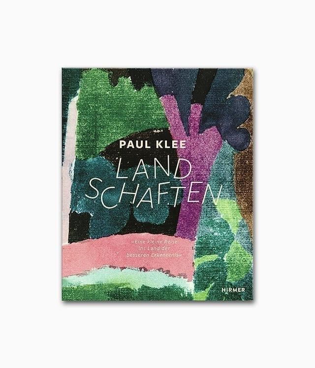 Cover des Buches über den deutschen Künstler Paul Klee zum Thema Landschaften erschienen im Hirmer Verlag