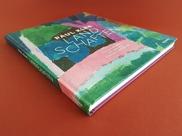 Paul Klee Landschaften Hirmer Verlag Buchcover liegend