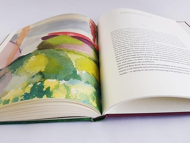 Paul Klee Landschaften Hirmer Verlag aufgeschlagene Doppelseite