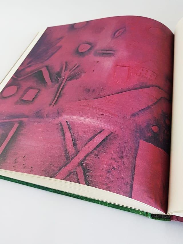 Paul Klee Landschaften Hirmer Verlag aufgeschlagene Seite