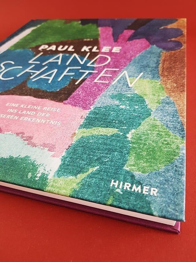 Paul Klee Landschaften Hirmer Verlag Logo Detailansicht