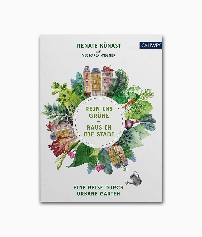 Cover vom Natu Buch über Urban Gardening vom Callwey Verlag