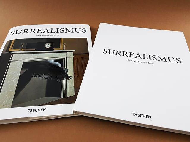 Surrealismus TASCHEN Verlag Kleine Reihe Cover Schutzumschlag