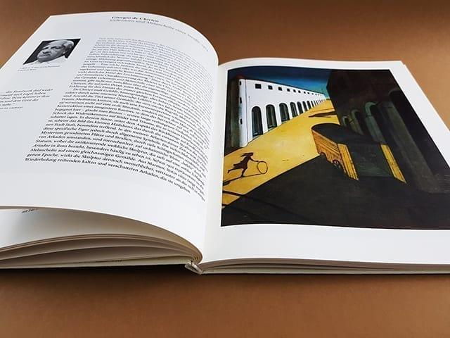 Surrealismus TASCHEN Verlag Kleine Reihe aufgeschlagene Doppelseite