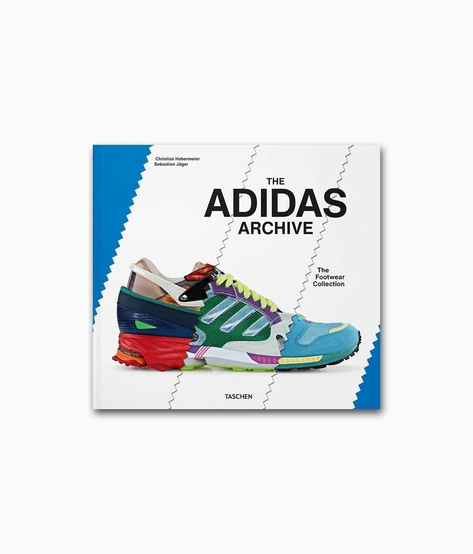 Cover vom Mode Buch über Sneaker namens The adidas Archive The Footwear Collection erschienen im TASCHEN Verlag