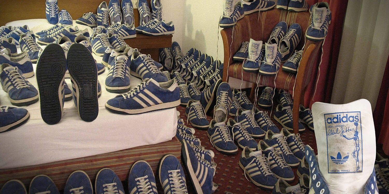 Fotografie aus dem Buch über Sneaker und Streetwear mit dem Titel True Originals An OG Adidas Selection by 1970-1993 erschienen bei seltmann publishers