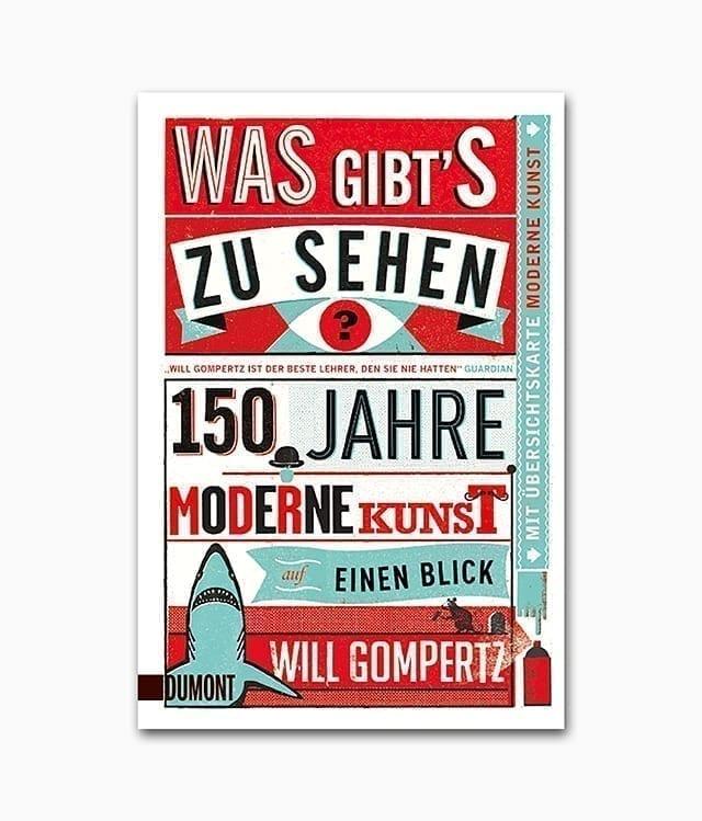 Was gibt's zu sehen 150 Jahre moderne Kunst auf einen Blick DuMont Verlag Buchcover