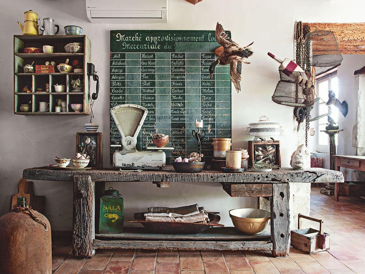 Fotografie aus dem Interior Design Buch namens Zuhause Gefunden mit Funstücken Atmosphäre schaffen aus dem Sieveking Verlag