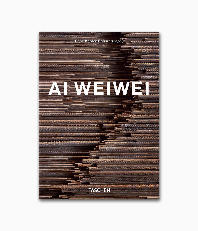 Cover des Kunstbuches über den berühmten Künstler Ai Weiwei vom TASCHEN Verlag