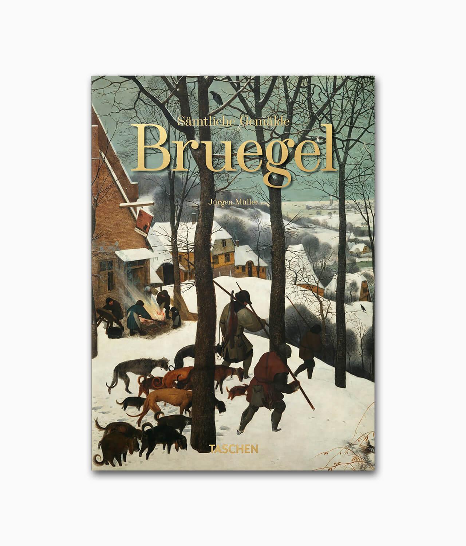 Cover vom Kunstbuch über den berühmten Künstler Pieter Bruegel vom TASCHEN Verlag