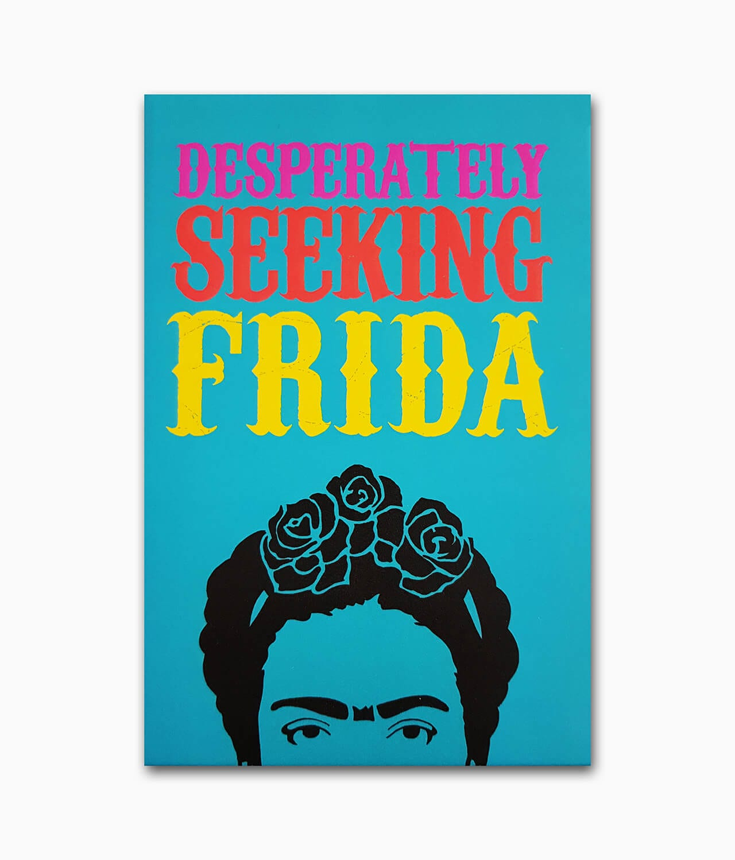 Cover der Künstlerbiografie über Frida Kahlo von Gingko Press Buchcover