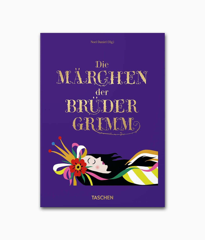 Cover des Märchenbuches Fairy Tales Grimm und Andersen 2 in 1 TASCHEN Verlag Buchcover