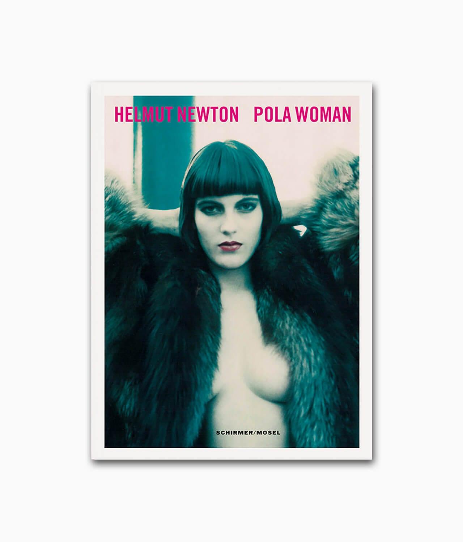 Cover des Buches über den berühmten Fotografen namens Helmut Newton Pola Woman Schirmer Mosel Verlag