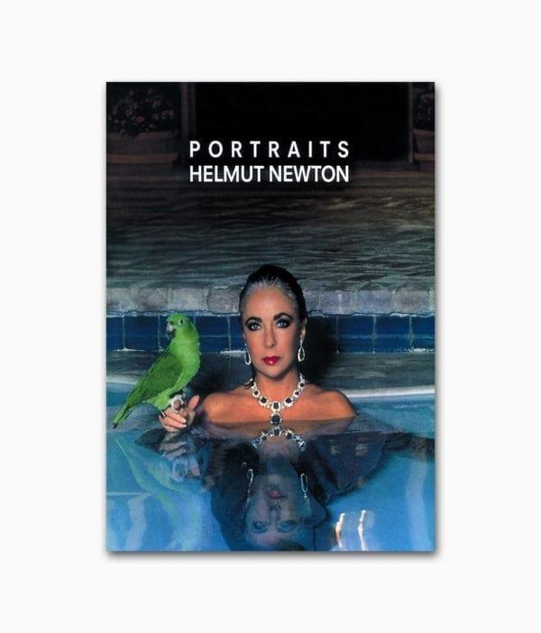 Cover des Fotografie Buches Helmut Newton Portraits aus dem Schirmer Mosel Verlag