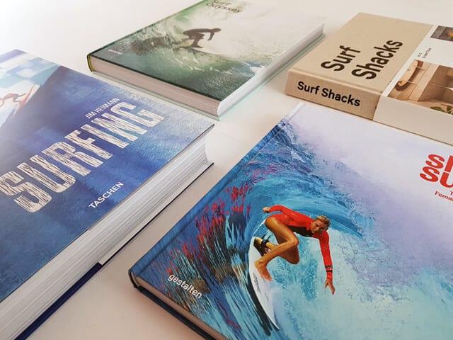 Surfen Buchtisch Bücher Bildbände